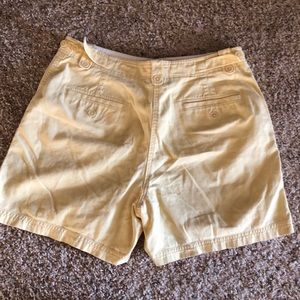 Lauren Ralph Lauren Shorts - Yellow Shorts